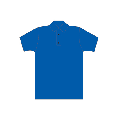 Spencer Polo blu manica corta