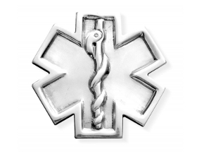 CX 11 fermacarte Star of Life