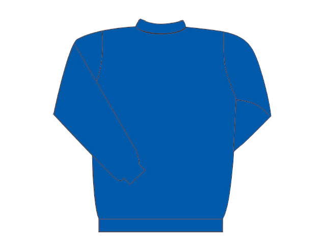 Blue sweater long sleeve