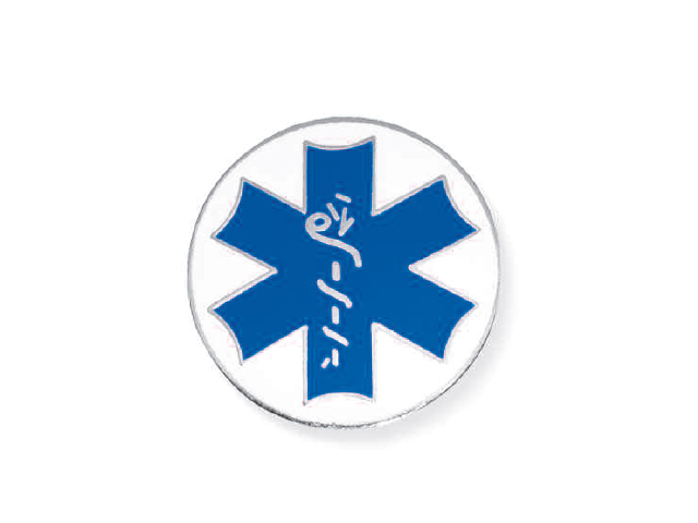 Star of Life blu/bianca