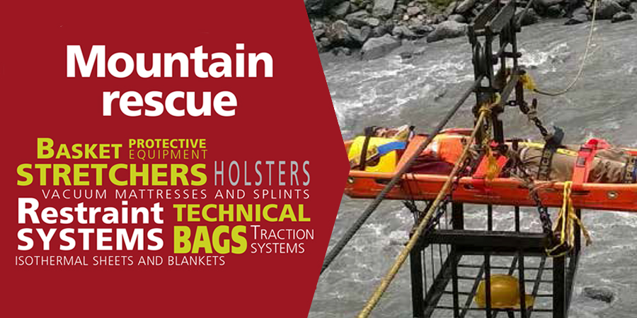 Discover the range of products for high altitude rescue